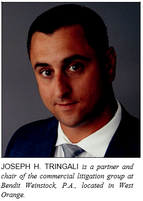 Article written by Attorney Joseph H. Tringali